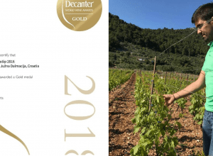 PZ Nerica Pošip: First Decanter Gold Award for Korčula!