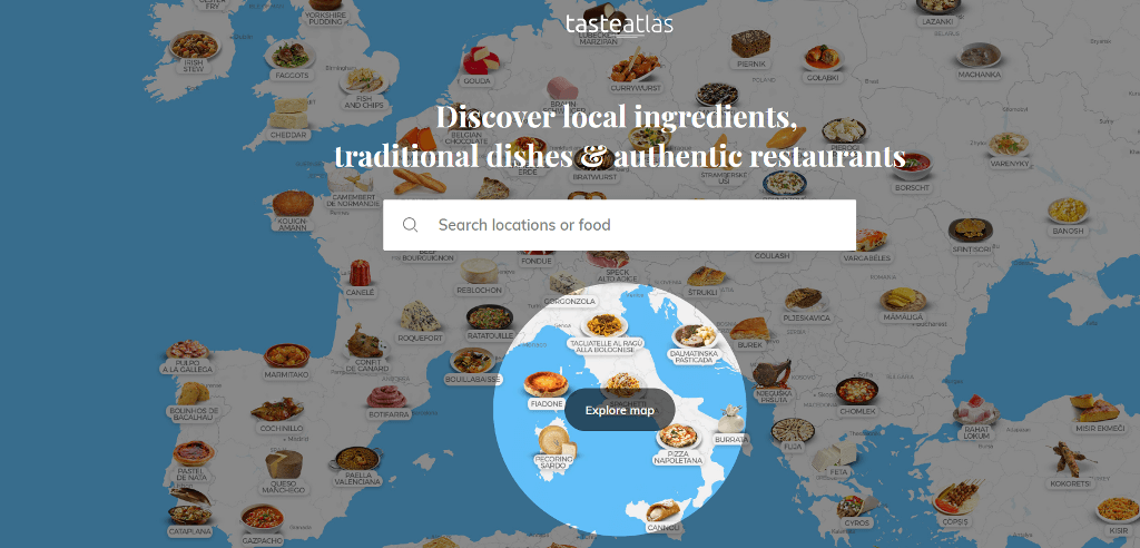 Taste Atlas - World Map