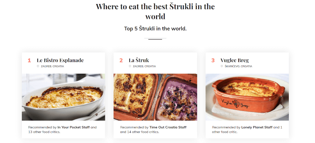 The best Strukli in the World - TasteAtlas