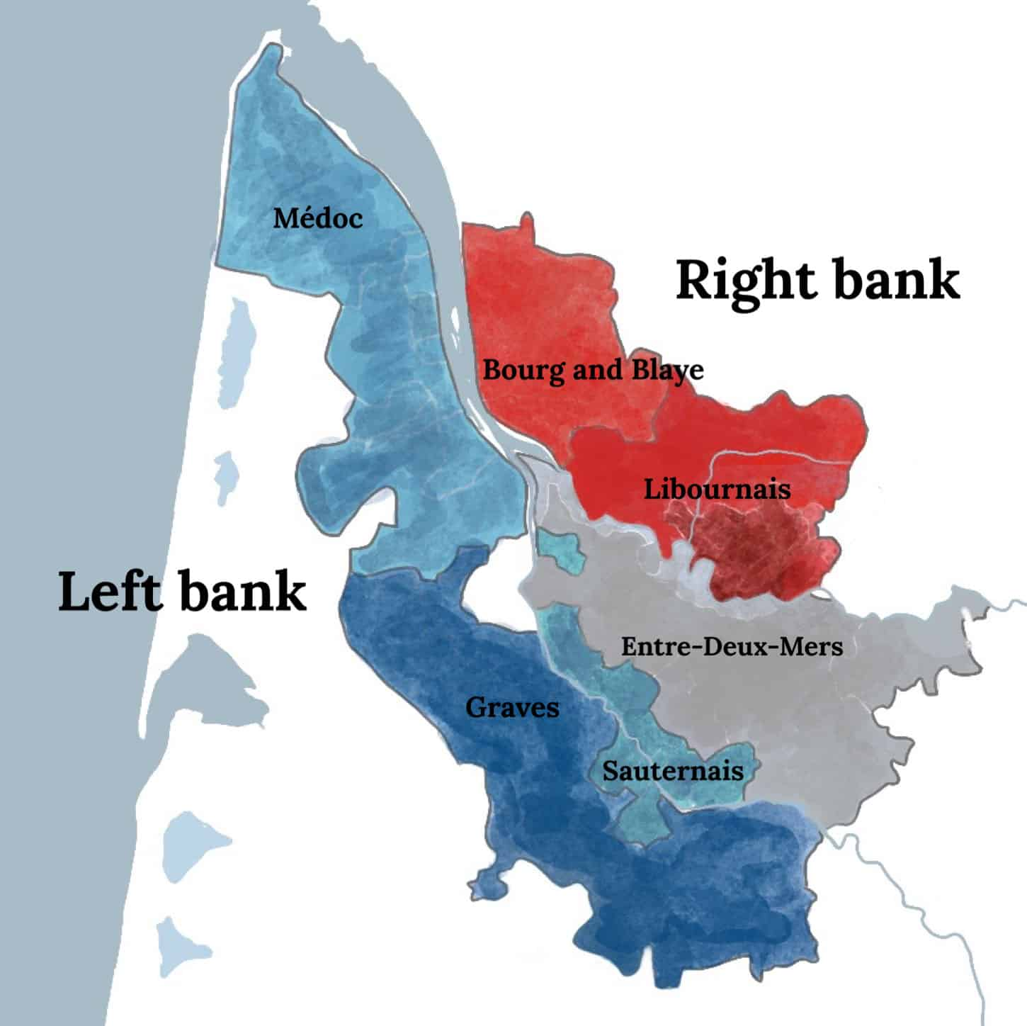 left bank - right bank