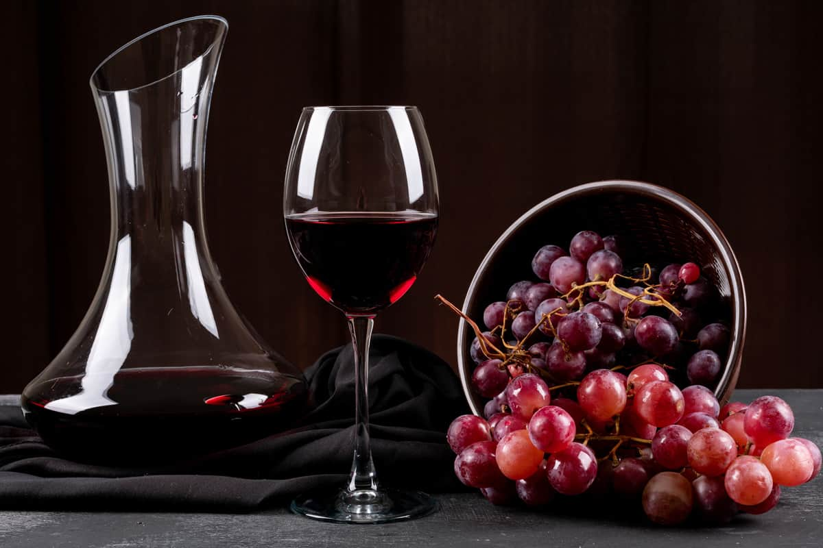 corny wine decanter photo
